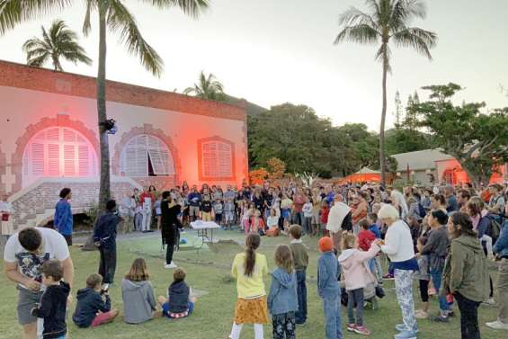 Spectacle : lebagne fait son show à Nouville