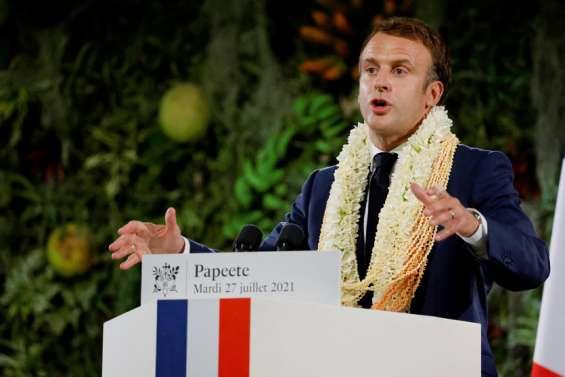 Macron évoque le référendum etles risques dans le Pacifique