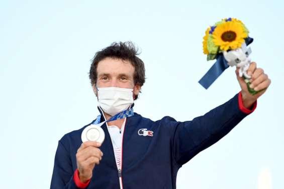 Windsurf: Thomas Goyard médaillé d'argent aux JO