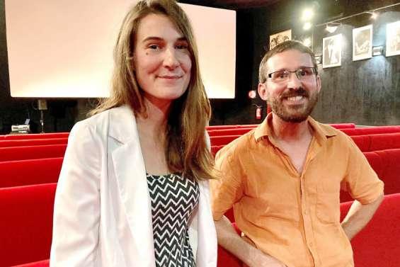 Frédéric Rabaud et Clotilde Gourdon, réalisateurs de 52 mètres plus tard.