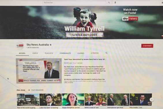 Covid-19: YouTube suspend Sky News Australia pour désinformation