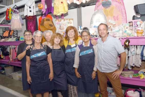 La société de Saint-Vincent-de-Paul ouvre une nouvelle boutique à Normandie
