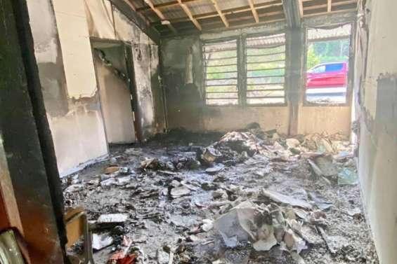 École incendiée: la continuité pédagogique assurée
