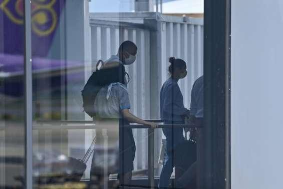 JO-2020: l'athlète bélarusse quitte Tokyo à bord d'un avion pour Vienne