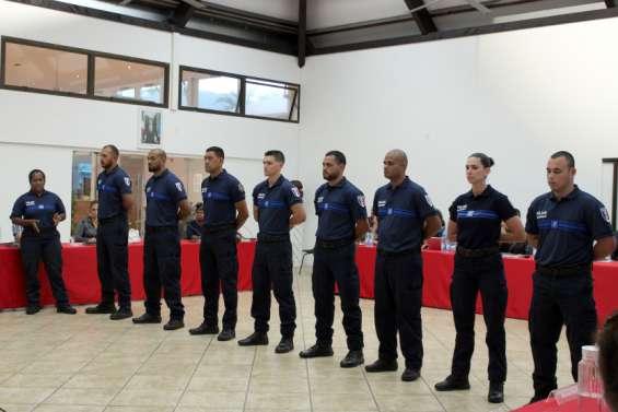 Mont-Dore: la police municipale a accueillises nouvelles recrues