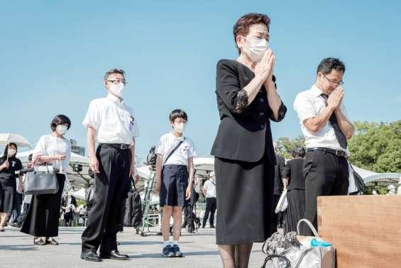 Le Japon commémore Hiroshima en pleins JO