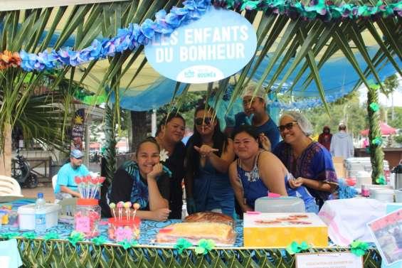 Les initiatives des quartiers de Nouméa mises à l'honneur place des Cocotiers