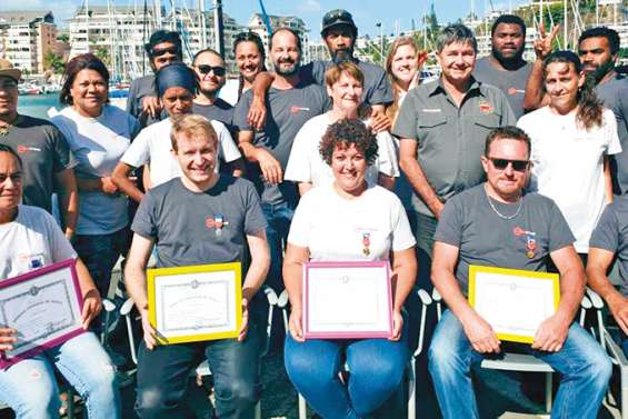 Des salariés de Mesachimie récompensés par une médaille