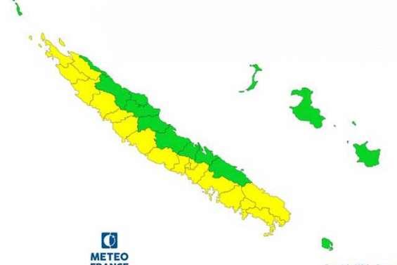 La côte Ouest et le Sud en vigilance jaune