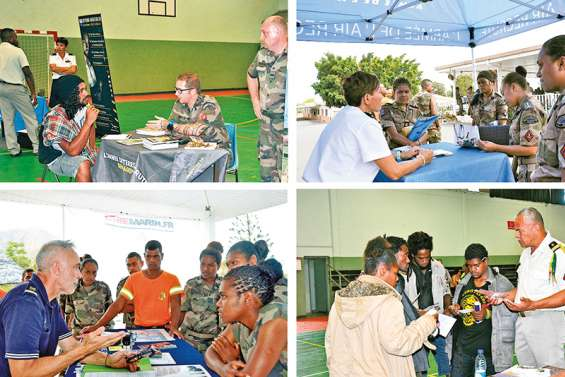 Les métiers de la Défense et  de la sécurité présentés aux jeunes