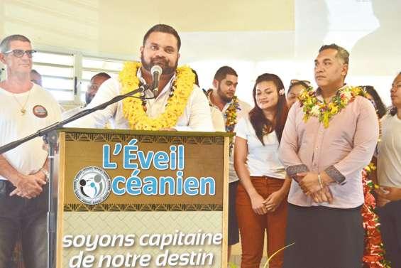 L'Éveil océanien au grand complet pour le lancement de la campagne