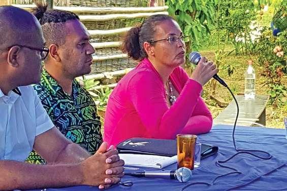 Axelle Normandon, ex-Calédonie ensemble, mène le MNIS au Nord