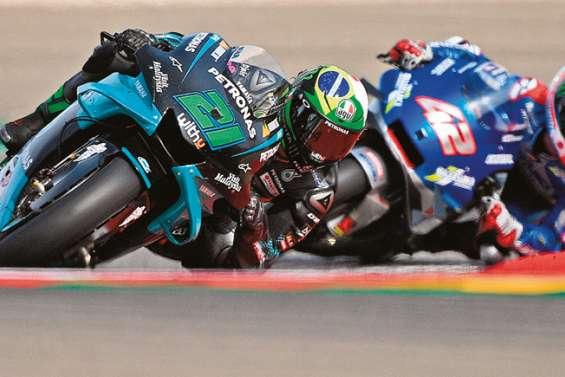 Morbidelli gagne la course, Quartararo perd du terrain