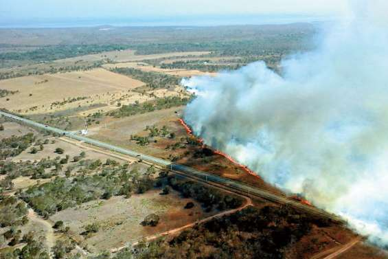 Incendies : Thio et La Foa sont dans le rouge