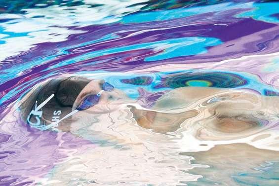 Confinés, les nageurs ont le mal de terre
