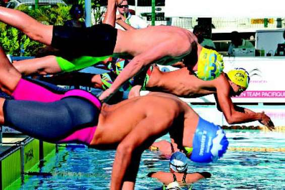 Plus de 120 nageurs dans le bassin du CNC