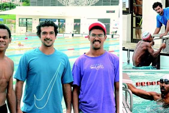Paul et Tanguy, les nageurs venus de loin