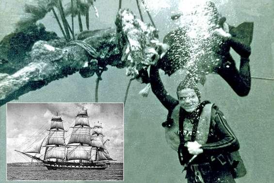 A terre, en mer, et dans les mémoires : sur les traces du naufrage de l'Aventure