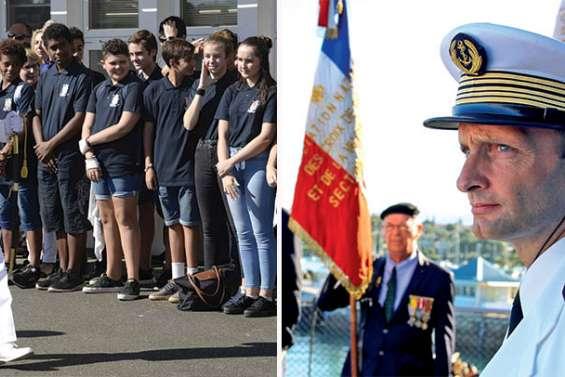 Deux nouveaux commandants pour la base Chaleix et la frégate Vendémiaire
