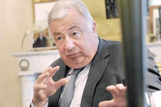 Gérard Larcher : « Contribuer au maintien du dialogue »