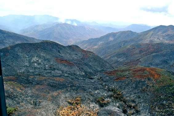 [VIDÉO] Incendie du Mont-Dore : risque de reprise en début d'après-midi