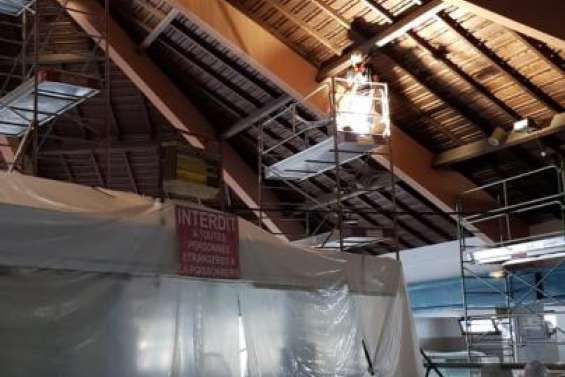 Le pavillon des poissonniers au marché rouvre demain matin