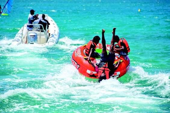 « On vient tous les ans à Nouméa plage, et presque tous les jours ! »