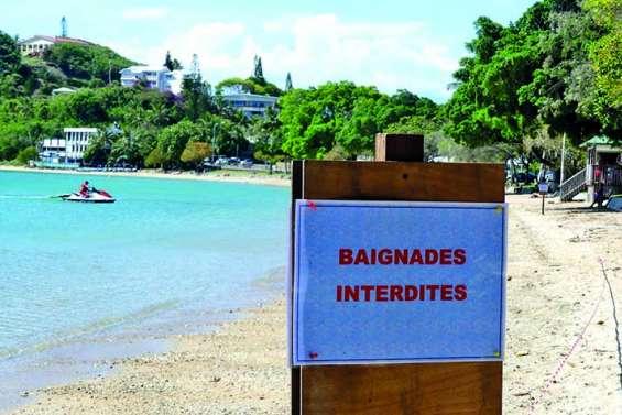 La plage toujours fermée à la baignade, des responsabilités communes évoquées