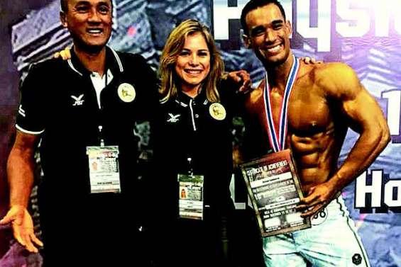 Nelson Sanmarso est vice-champion du monde