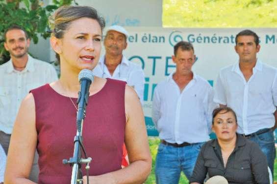 Nina Julié présente une équipe additionnant les compétences