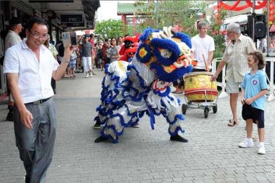 Le quartier chinois en fête jusqu'à 19 heures ce soir