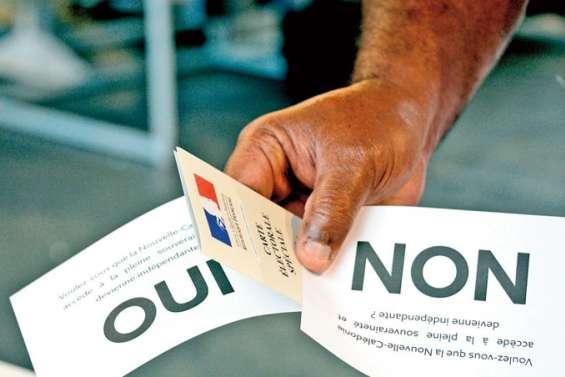 Référendum : fin des inscriptions sur la liste le mardi 31 décembre