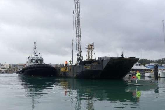 Nouméa : bientôt de nouveaux pontons à Port-Moselle