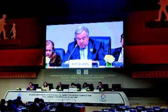 Le Pacte mondial pour les migrations signé à Marrakech