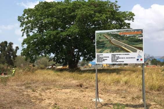 Païta : un nouveau tronçon pour la route de la Quarantaine