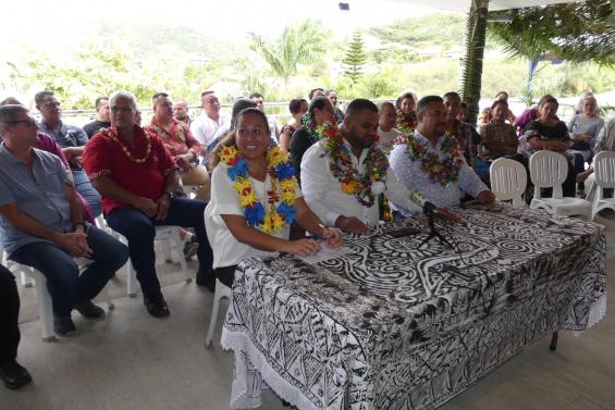 A Païta, le Rassemblement et Calédonie ensemble s'allient à l'Eveil océanien
