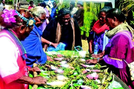 Hnathalo fête la patate douce