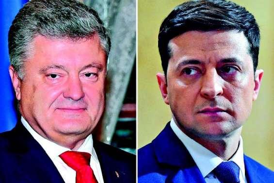 Duel Porochenko-Zelensky à la présidentielle