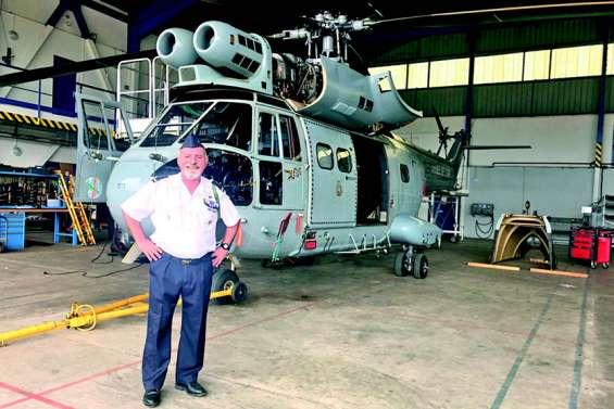 Après 43 ans dans l'armée de l'air, Philippe Garbay prend son envol