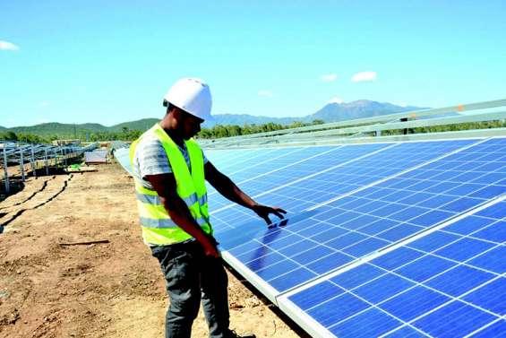 La centrale photovoltaïque de Tangadiou sera prête fin août