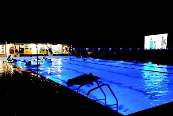 Quand le ciné s'invite à la piscine