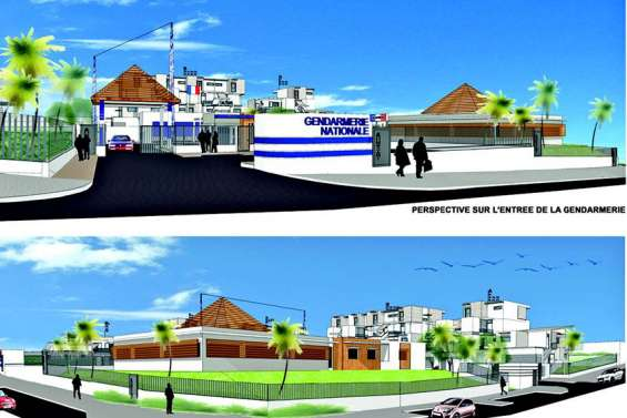 Une nouvelle gendarmerie attendue au coeur d'Apogoti pour mars 2021
