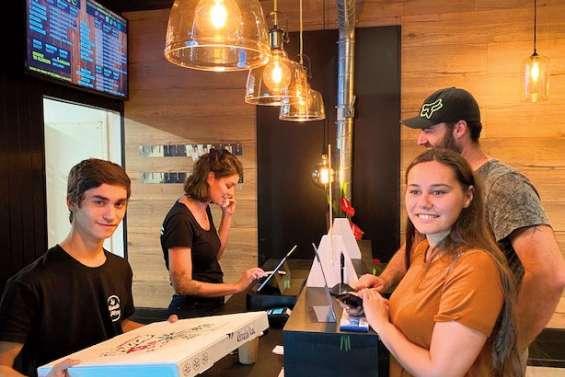 La planche à pizza remplace la pizzeria d'Auteuil
