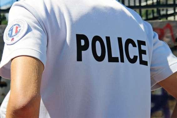 Les fonctionnaires de police manifestent ce matin