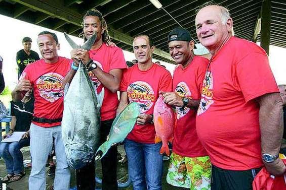 Les pêcheurs tahitiens se distinguent à Hawaï