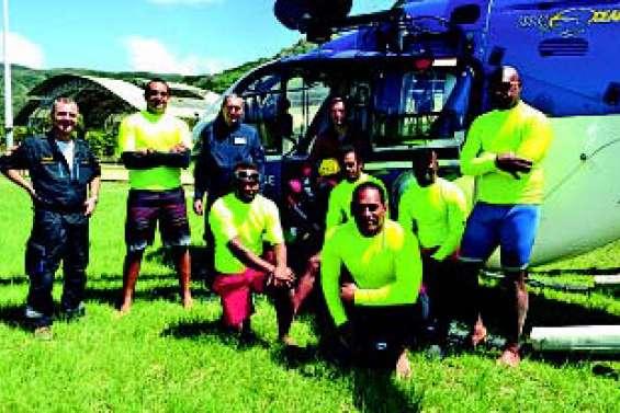 Les pompiers formés aux secours en mer