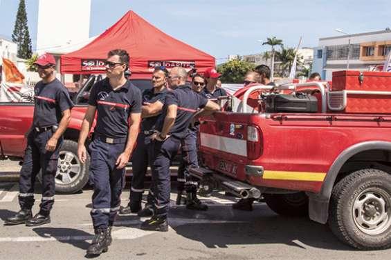 Premier jour de grève des pompiers