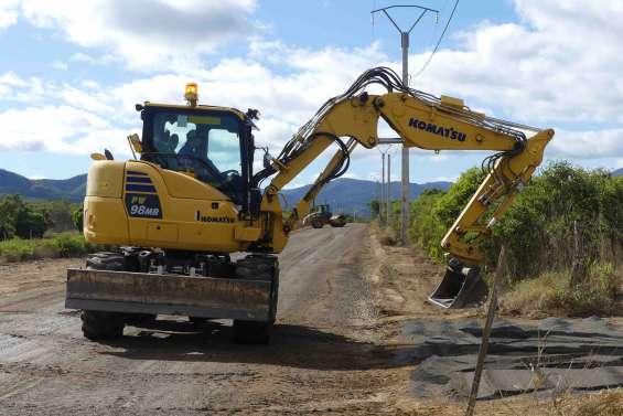 Le programme de travaux routiers est lancé