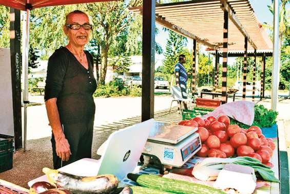 Les produits de Maré au coeur du village ce week-end