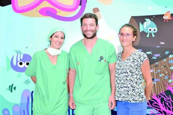 Les P'tits doudous du Caillou font le bonheur des enfants hospitalisés